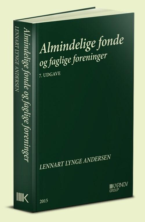 Image of   Almindelige Fonde Og Faglige Foreninger - Lennart Lynge Andersen - Bog