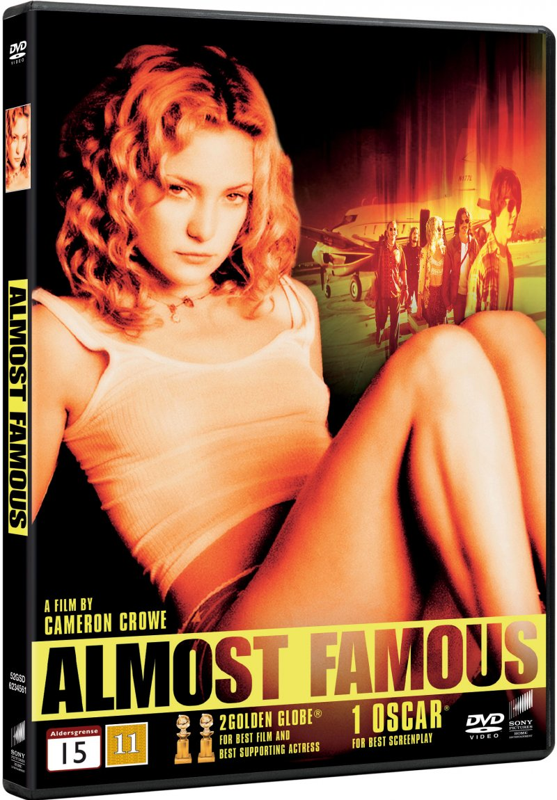 Image of   Almost Famous - DVD - Film