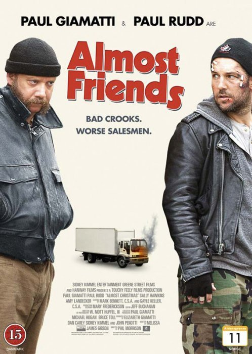Image of   All Is Bright / Almost Friends - DVD - Film