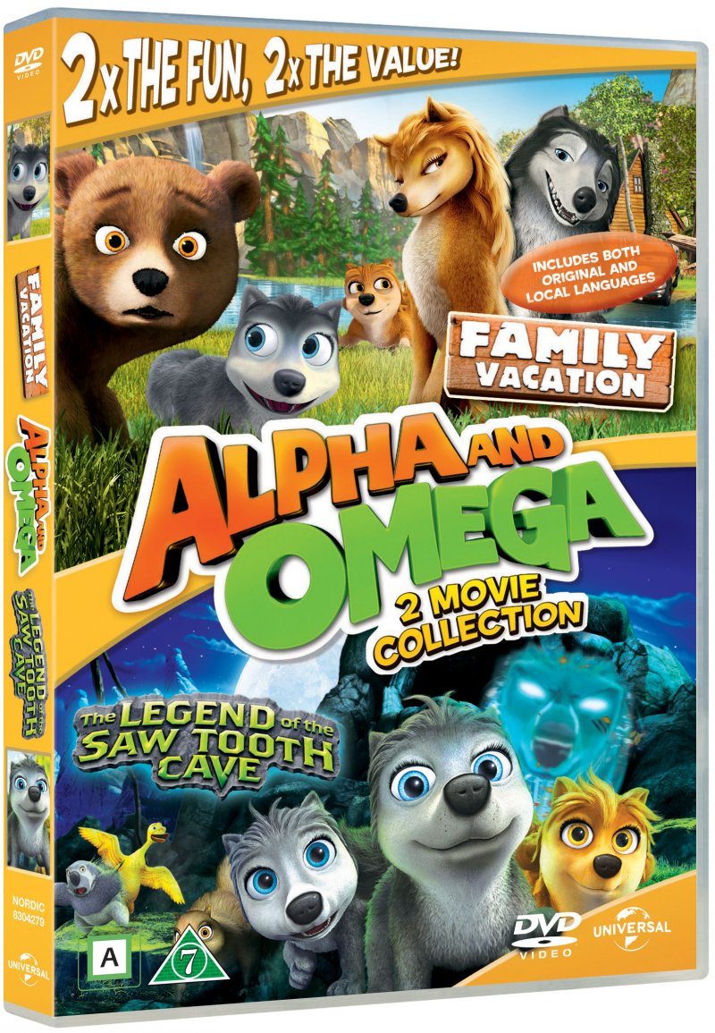 Image of   Alpha Og Omega 4 + 5 - DVD - Film