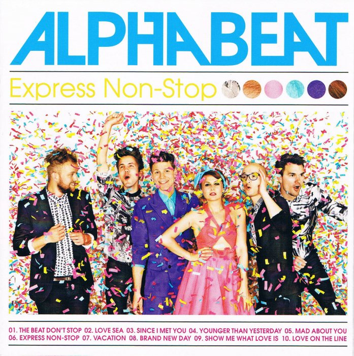 Image of   Alphabeat - Express Non-stop - CD