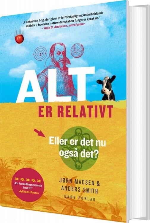 Image of   Alt Er Relativt - Jørn Madsen - Bog