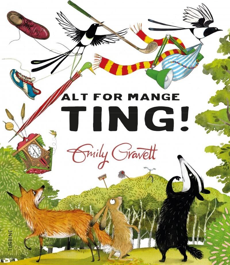 Alt For Mange Ting! - Emily Gravett - Bog