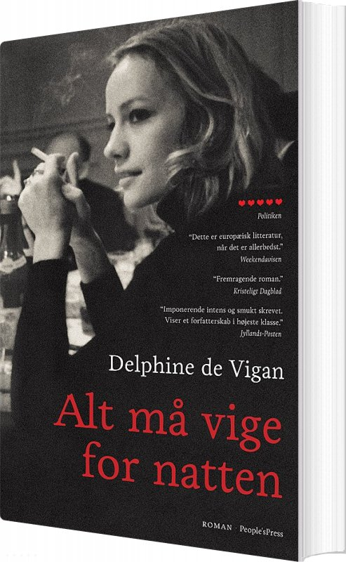 Image of   Alt Må Vige For Natten - Delphine De Vigan - Bog