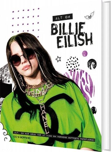 Image of   Alt Om Billie Eilish - 100% Uofficiel - Bog