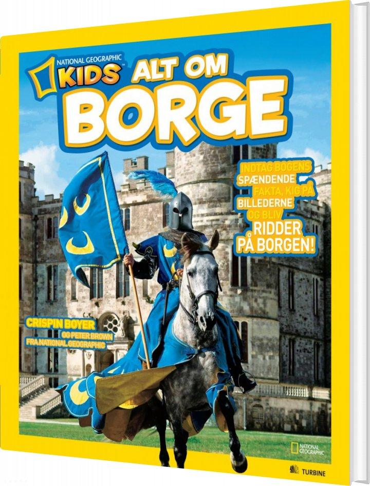 Image of   Alt Om Borge - Crispin Boyer - Bog