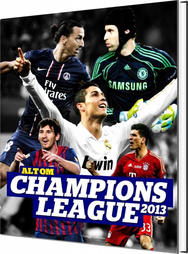 Image of   Alt Om Champions League 2013 - Steffen Gronemann - Bog