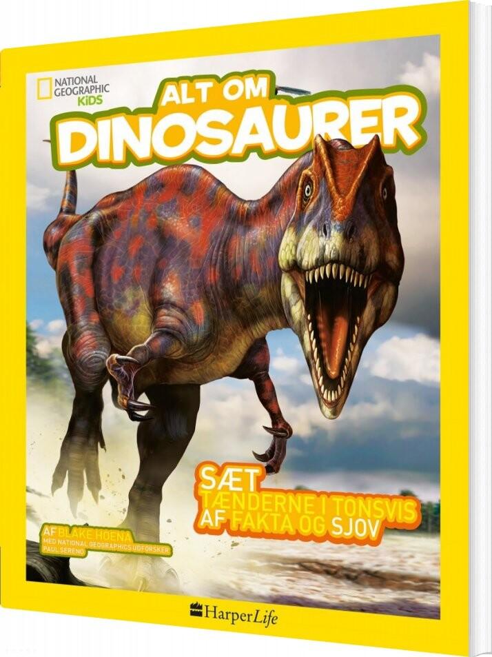 Image of   Alt Om Dinosaurer - Blake Hoena - Bog