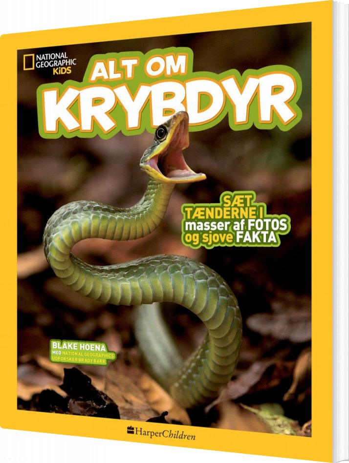Image of   Alt Om Krybdyr - Blake Hoena - Bog