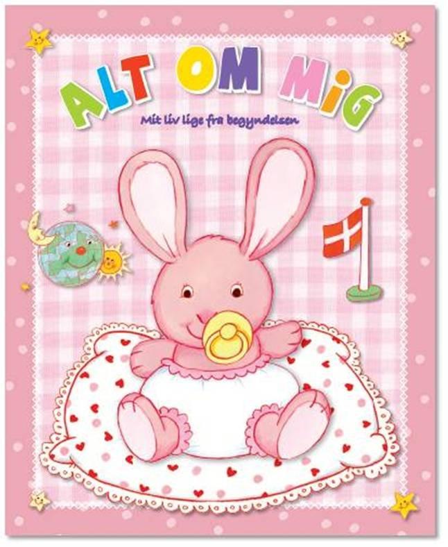Billede af Alt Om Mig (lyserød) - Diverse - Bog