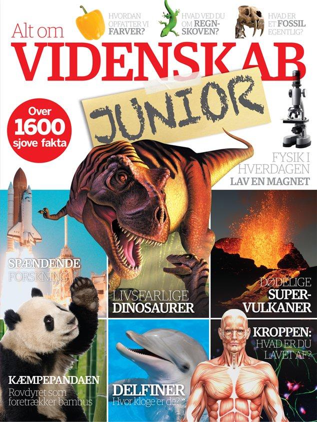 Image of   Alt Om Videnskab Junior - Line Therkelsen - Bog