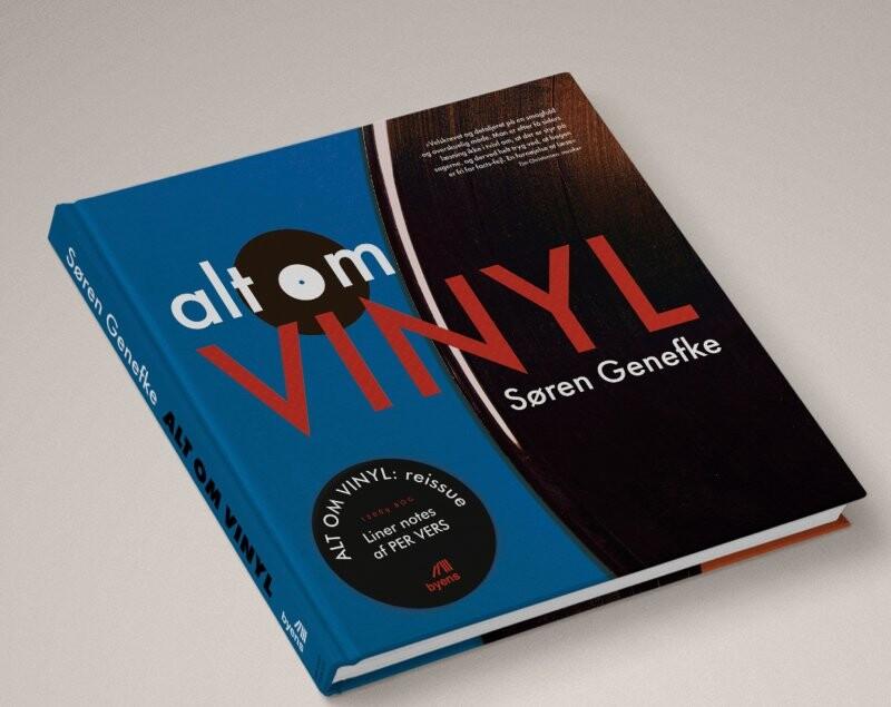 Image of   Alt Om Vinyl - Søren Genefke - Bog