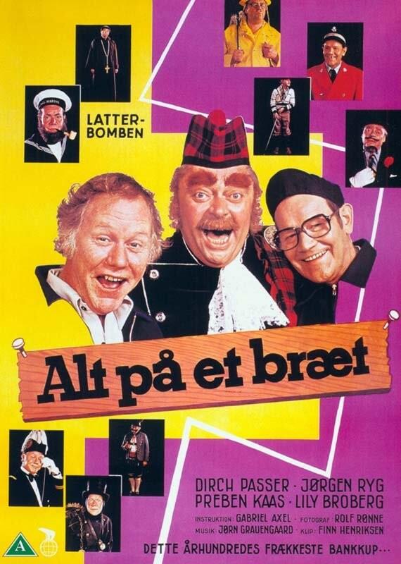 Image of   Alt På Et Bræt - DVD - Film