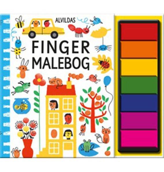 Image of   Alvildas Fingermalebog - Fiona Watt - Bog