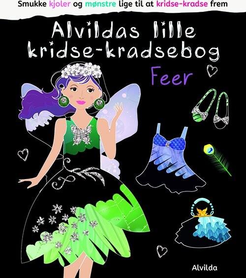 Image of   Alvildas Lille Kridse-kradse Bog - Feer - Diverse - Bog