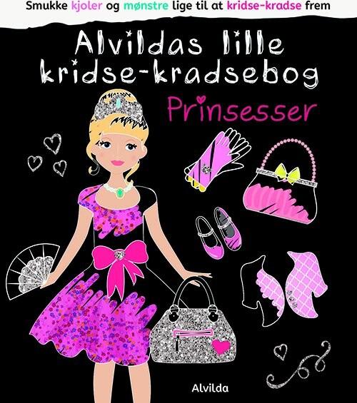 Image of   Alvildas Lille Kridse-kradse Bog - Prinsesser - Diverse - Bog