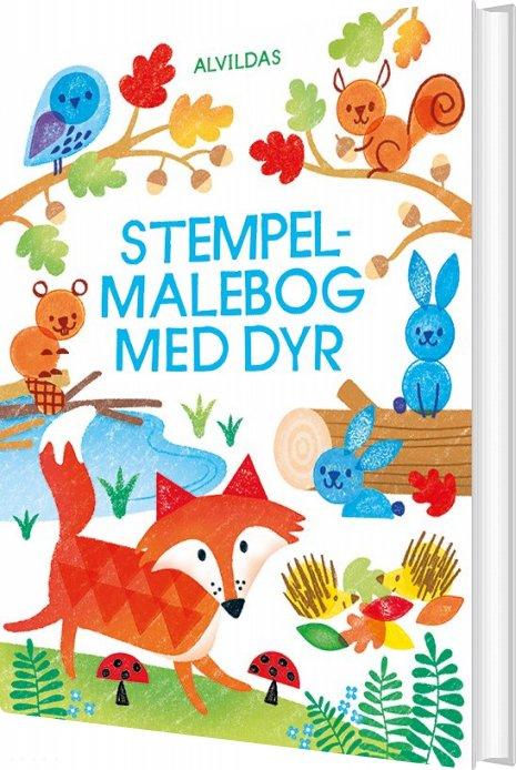 Image of   Alvildas Stempel-malebog - Fiona Watt - Bog