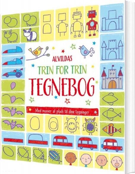 Image of   Alvildas Trin For Trin-tegnebog - Diverse - Bog