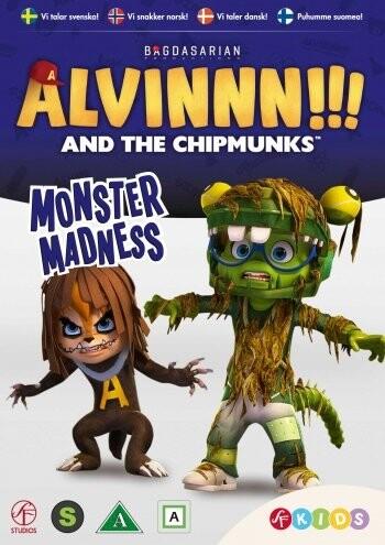 Image of   Alvin & De Frække Jordegern - Sæson 2 Vol. 4 - DVD - Film