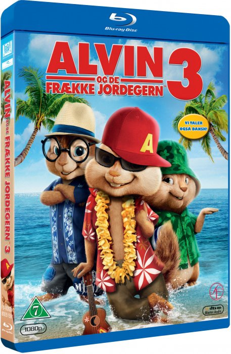 Image of   Alvin Og De Frække Jordegern 3 / Alvin And The Chipmunks 3 (blu-ray+dvd) - Blu-Ray
