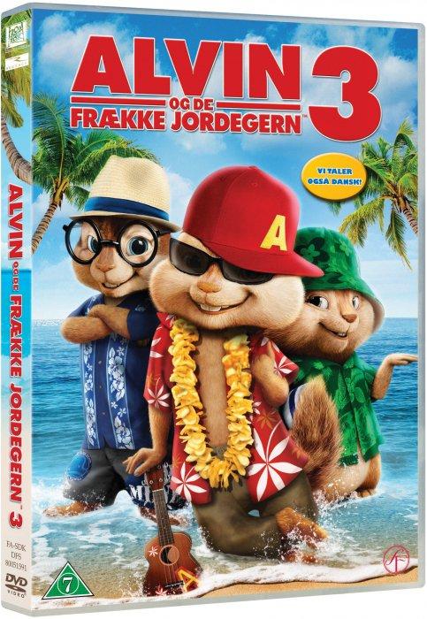 Image of   Alvin Og De Frække Jordegern 3 / Alvin And The Chipmunks 3 - DVD - Film