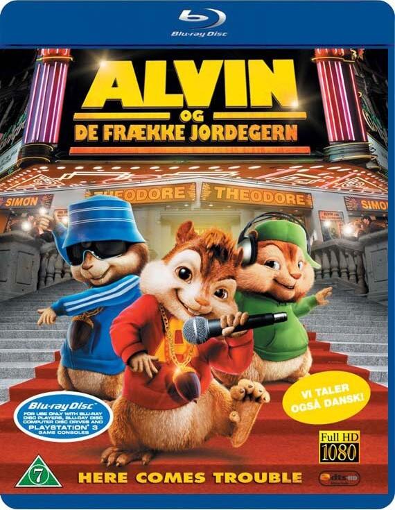 Image of   Alvin Og De Frække Jordegern / Alvin And The Chipmunks - Blu-Ray