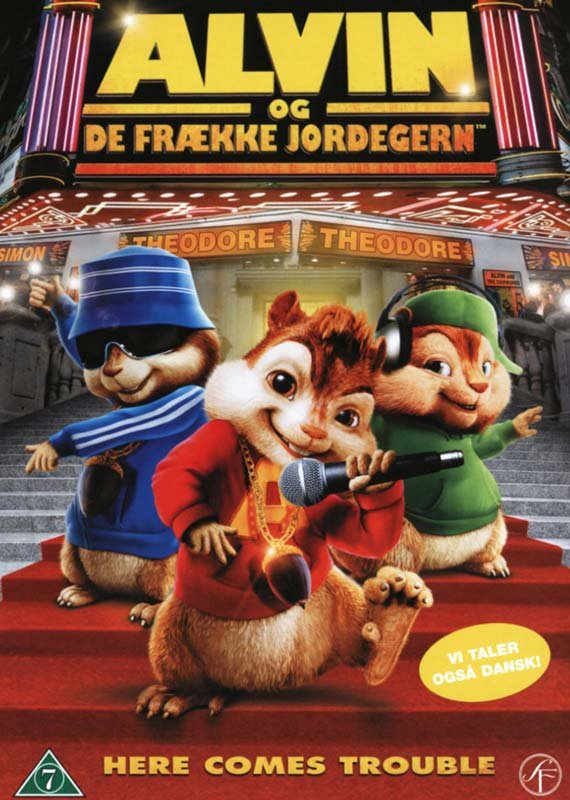 Image of   Alvin Og De Frække Jordegern / Alvin And The Chipmunks - DVD - Film