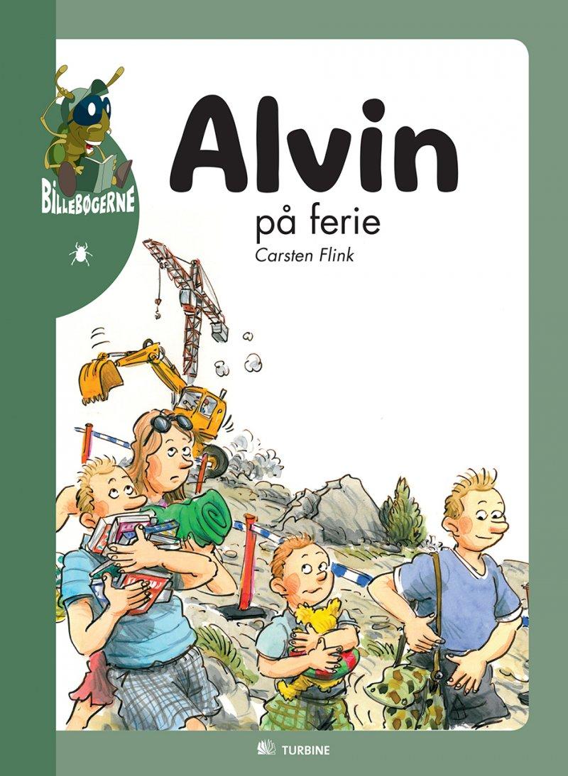 Billede af Alvin På Ferie - Carsten Flink - Bog