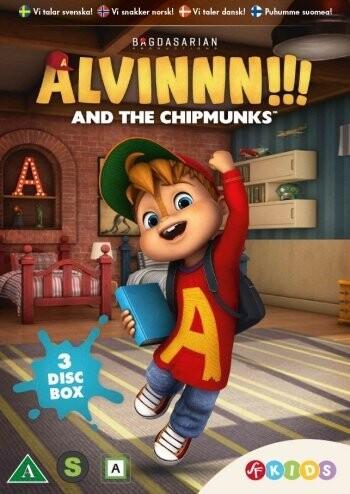 Billede af Alvin Og De Frække Jordegern - Sæson 1 - Vol. 1-3 - DVD - Film
