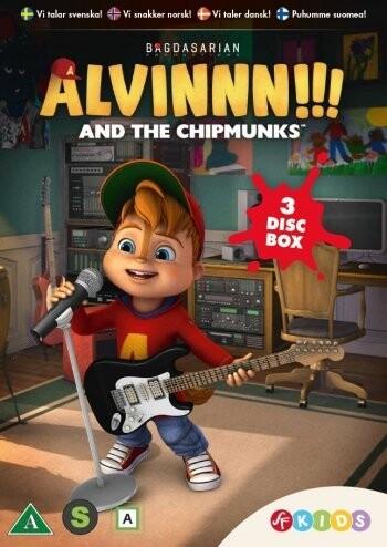 Billede af Alvin Og De Frække Jordegern - Sæson 1 - Vol. 4-6 - DVD - Film