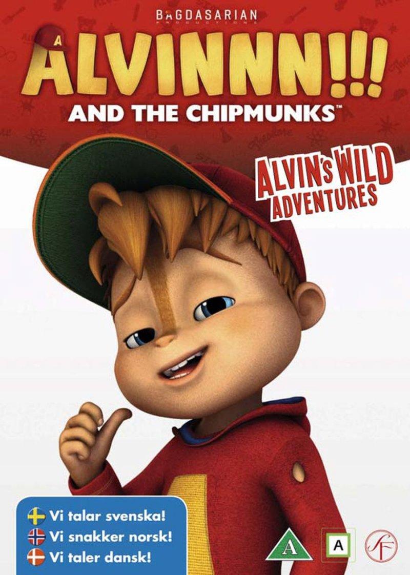 Image of   Alvin Og De Frække Jordegern 1 - Alvins Vilde Eventyr - DVD - Film