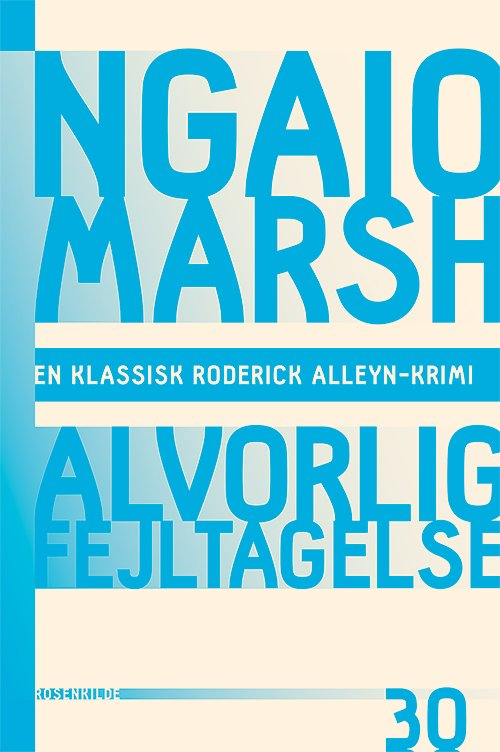 Image of   Alvorlig Fejltagelse - Ngaio Marsh - Bog