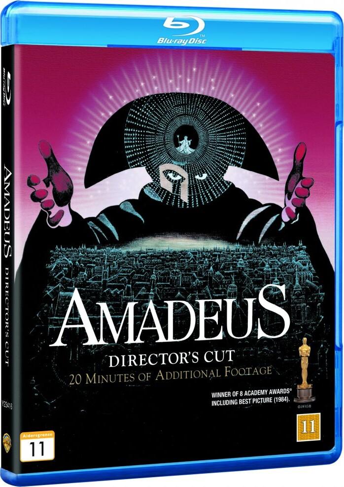 Image of   Amadeus - Directors Cut - Blu-Ray