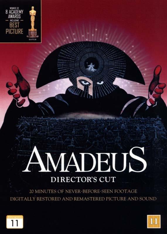 Image of   Amadeus - Directors Cut - DVD - Film