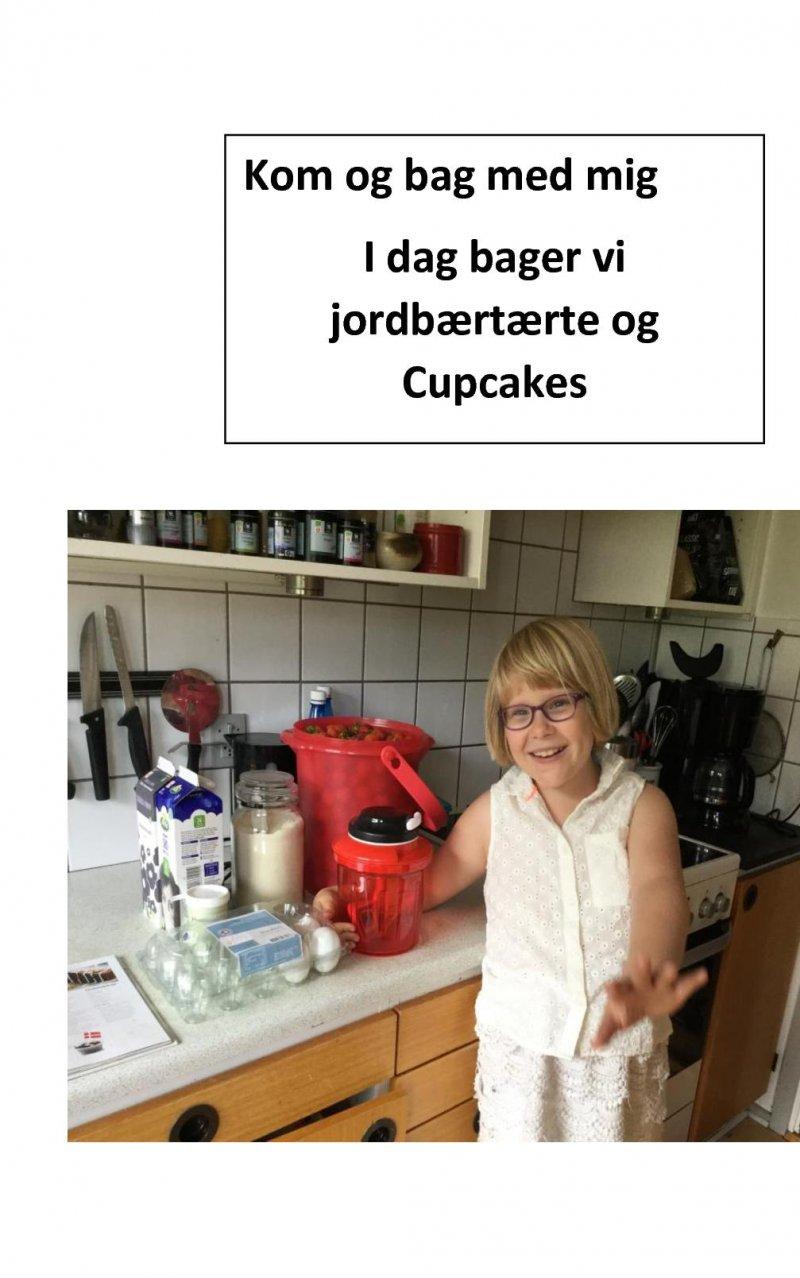 Image of   Amanda Bager Jordbærtærte - Amanda Pedersen - Bog