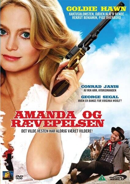 Image of   Amanda Og Rævepelsen / The Dutchess And The Dirtwater - DVD - Film
