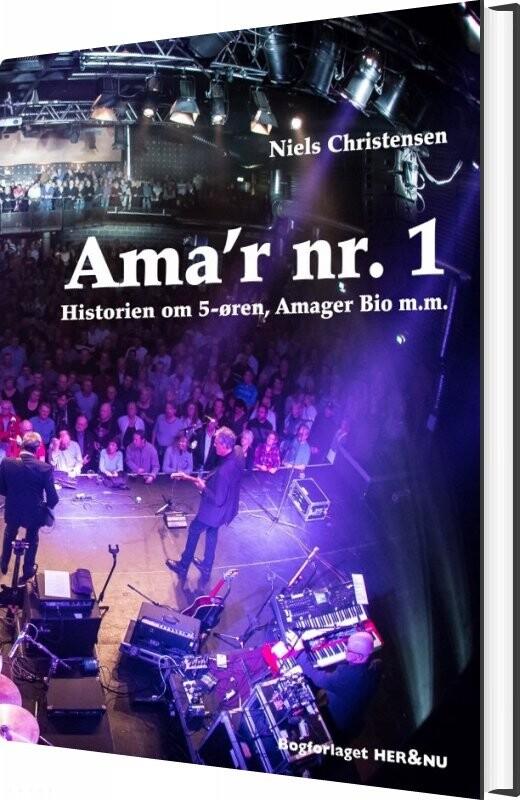 Image of   Ama´r Nr. 1 - Niels Christensen - Bog