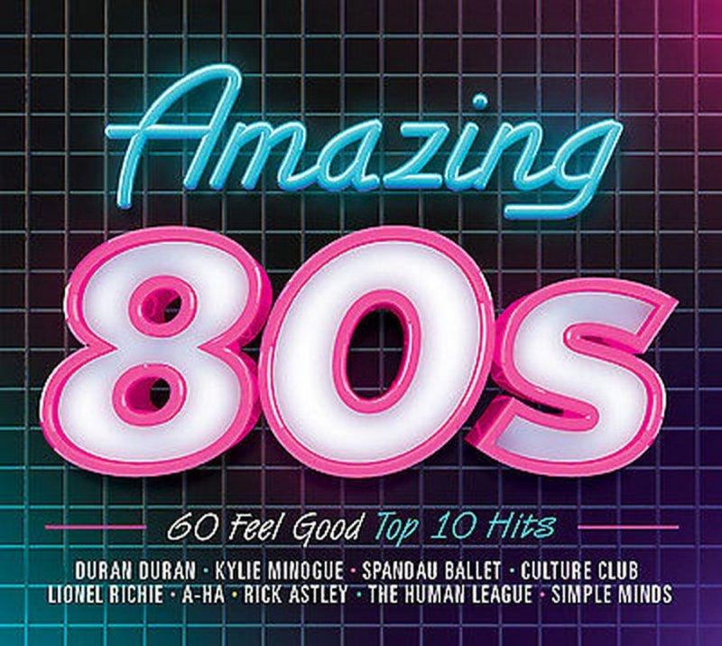 Image of   Amazing 80s - CD