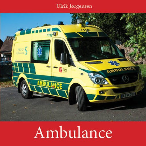 Image of   Ambulance - Ulrik Jørgensen - Bog