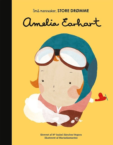 Image of   Amelia Earhart - Maria Isabel Sanchez Vegara - Bog