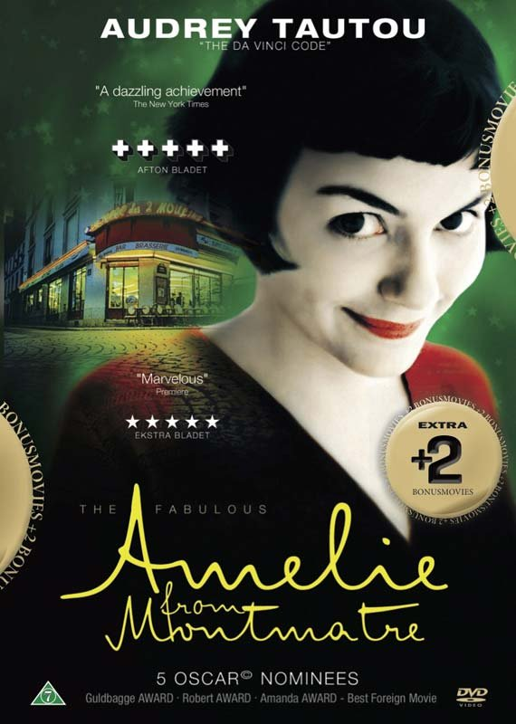 Image of   Amelie // Fame // My Date With Drew - DVD - Film