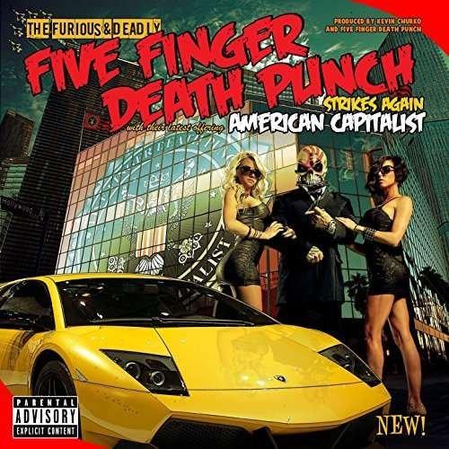 Image of   Five Finger Death Punch - American Capitalist - Vinyl / LP