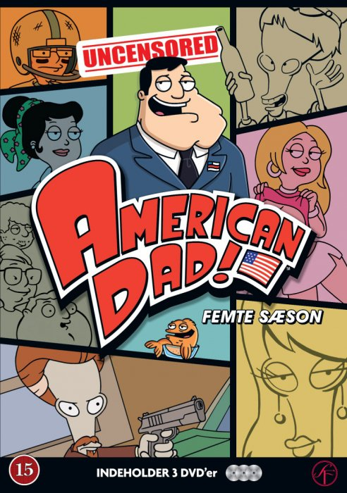 Image of   American Dad - Sæson 5 - DVD - Tv-serie