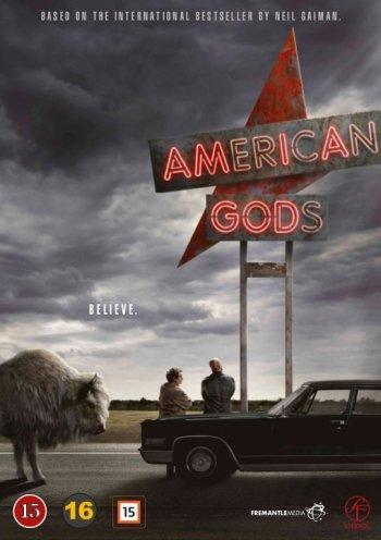 Image of   American Gods - Sæson 1 - DVD - Tv-serie