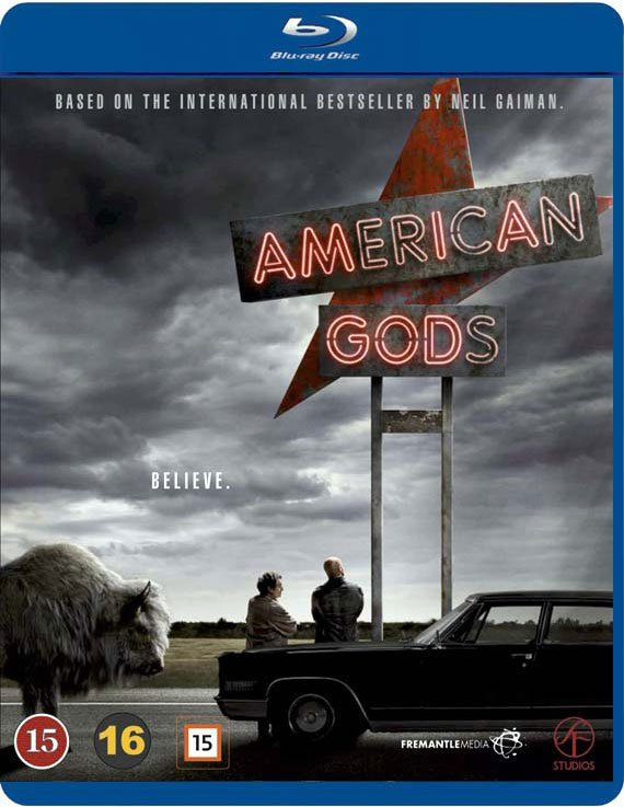 Image of   American Gods - Sæson 1 - Blu-Ray - Tv-serie