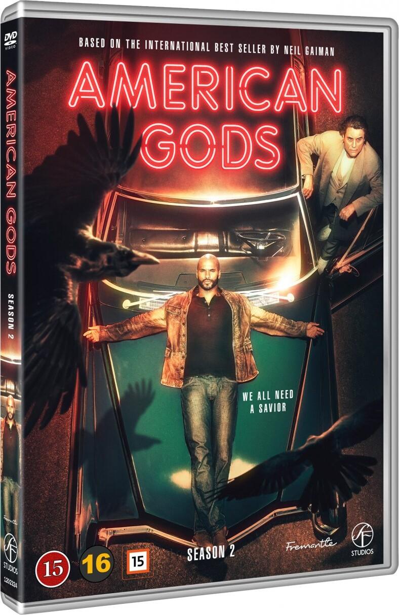 Image of   American Gods - Sæson 2 - DVD - Tv-serie