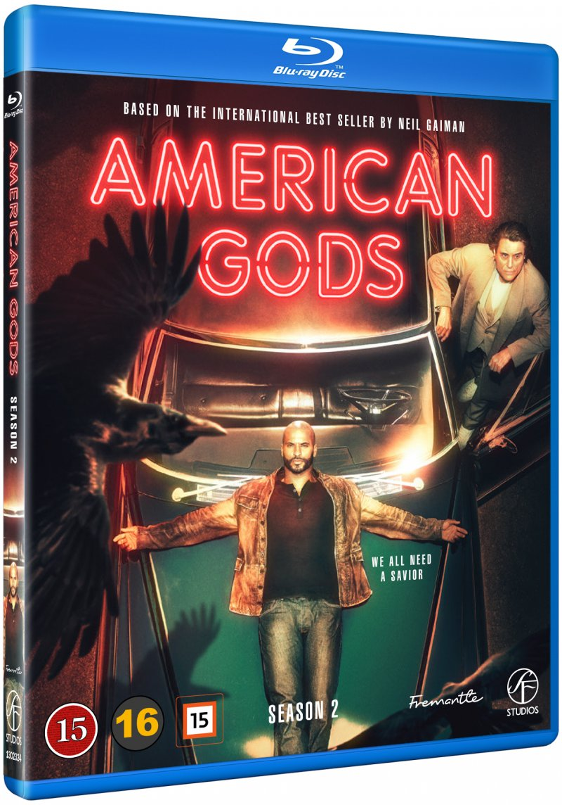 Image of   American Gods - Sæson 2 - Blu-Ray - Tv-serie