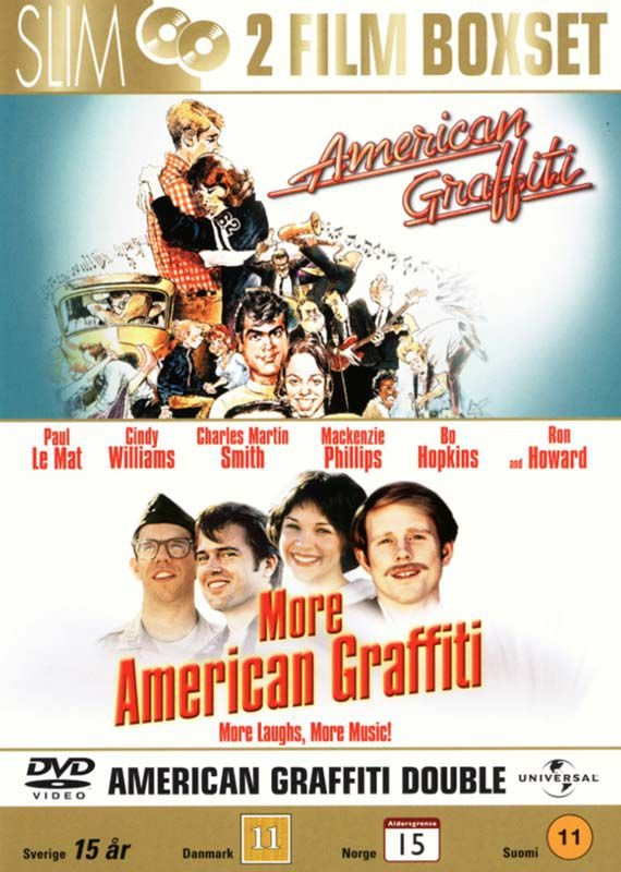 Image of   American Graffiti // More American Graffiti - DVD - Film