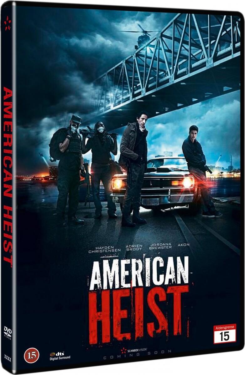 Image of   American Heist - DVD - Film
