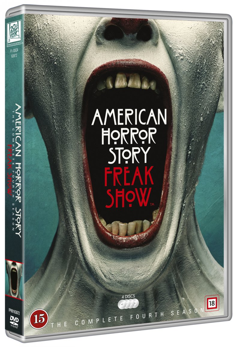 Image of   American Horror Story - Sæson 4 - DVD - Tv-serie